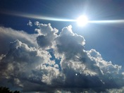Beautiful clouds right now on Folsom.....Barbara Lee