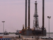 Hercules 200 jack up rig leaves port fourchon to replace burnt one