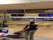 High school bowler bowls perfect game
