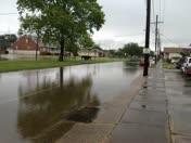 Gretna street flooding