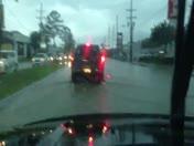 Flooding on Gause Boulevard