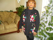 THE OLD LADY CHRISTMAS SWEATER