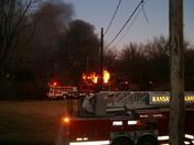 Shawnee Drive Fire 2/11/09 Kc.Ks.