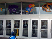 Ford Center Entrace With Logos