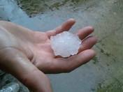 Hail in Olathe, 5.6.12