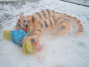 MU/KU Snow Art
