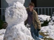 "7' 8"" snowman"