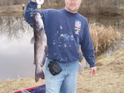 Cat fishing in Excelsior Springs.
