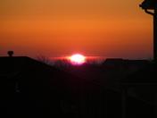 Tuesday's morning sunrise