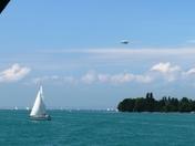 Sailboat & Zeppelin