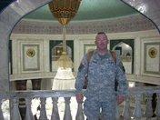 Saddam Hussein chandelier