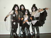 Kiss Band album pose