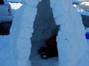 my VERY FIRST igloo!