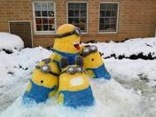 Minion snowmen