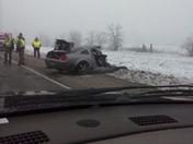 bad wreck on 112 between Pocola & Cameron
