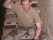 My brother Mason while in Iraq