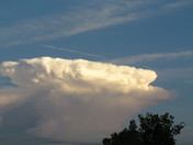 Storms building in the south