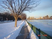 Walking the Charles River