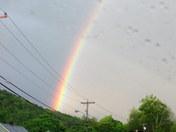 Raindrops and Rainbow