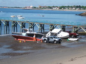 Spring Cleaning of Swampscott Lobster Boats