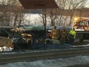 Crash on 95 Waltham MA