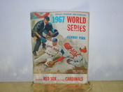 1967 world series program