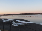 Norwood Airport: A Pond
