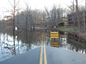 Nashua River across Canal St. Pepperell, MA