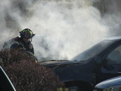 Car Fire Stop & Shop Natick