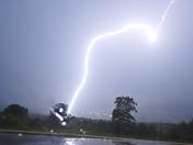 Lightning in Athol from Ken Bassett
