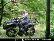 Me 4 wheelin