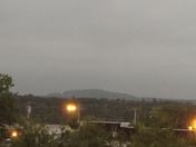sky darkening