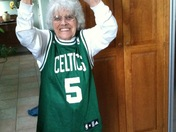Celtics 89 year old fan