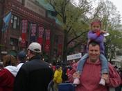 Bella's First Red Sox Game!