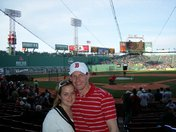 Mel and Tim's first Red Sox game