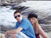 My Youngest DAUGHTER Sky Maylene 21 & I @ the Truckee River on the Sparks Nevada