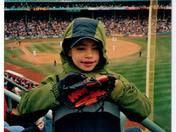 Ethan's First Red Sox Game