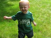 Jacob going Green!