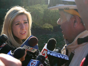 Kimberly Bookman interviews Fire Chief