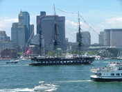 Old Ironsides Turnaround Cruise, July 4