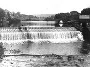 The Gilbertville Dam Circa 1900