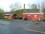 Boston & Albany RR Station Gilbertville MA Now the Whistle Stop Restaurant Rt 32