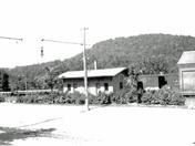 Boston & Albany RR Station Gilbertville MA Late 1800's