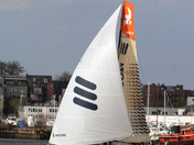 Volvo Ocean Race finish Boston