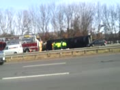 truck roll over