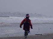 High Tide Nahant Beach 1/2/2010