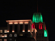 RJR Building - Christmas Colors