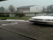 Hail in Morrow 4/16/2013