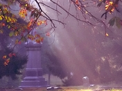 "Spring Grove Cemetery & Arboretum ""Let there be light, ur, Autumn"""