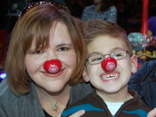 Beth and Spencer at the Circus 2011